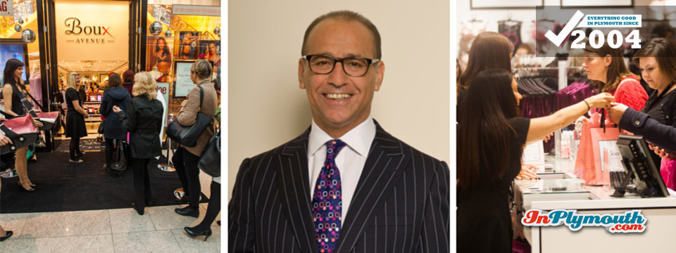 Theo Paphitis in Plymouth - on Business