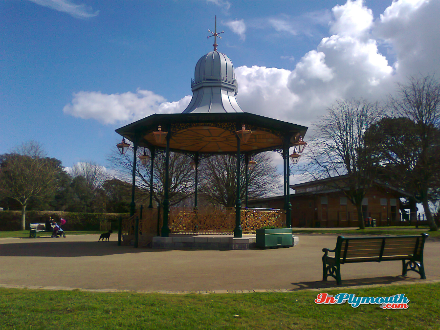 Bandstand in Devonport Park March 2015