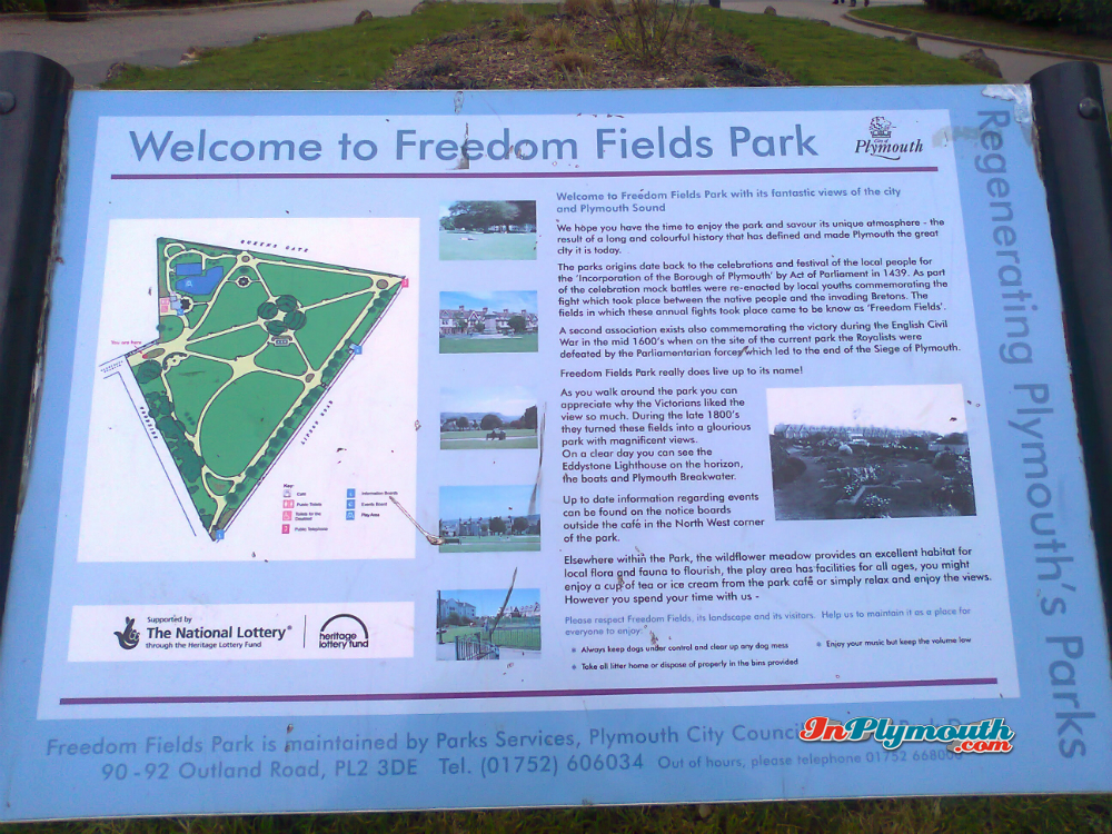 Freedom Fields Park March 2015