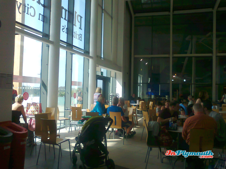 Plymouth Life Centre cafe April 2015