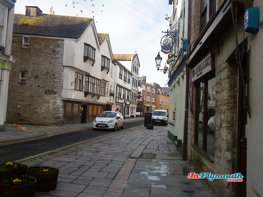 Plymouth Barbican Winter 2014