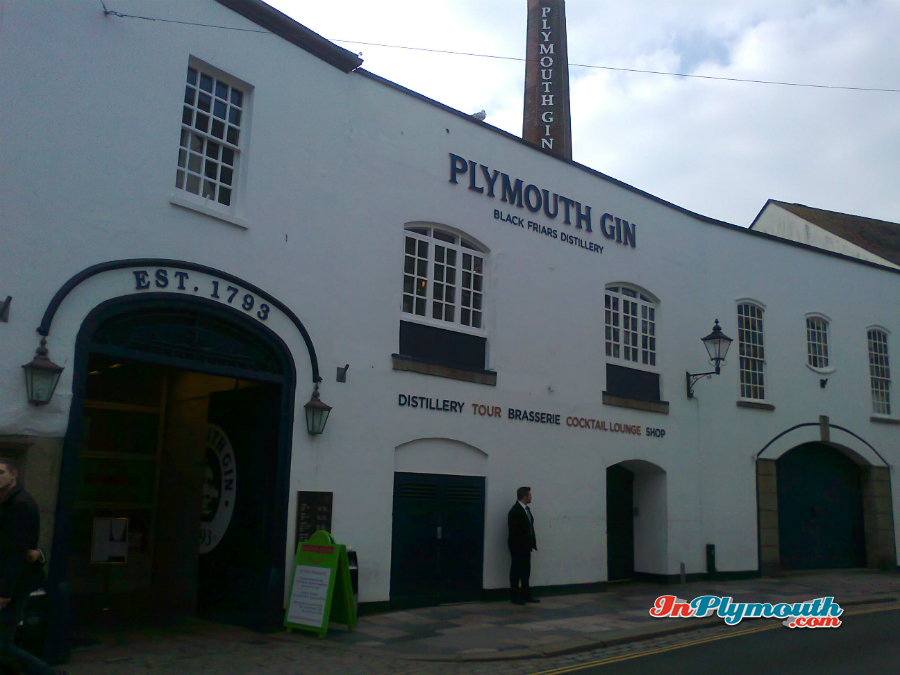 Plymouth Gin March 2015