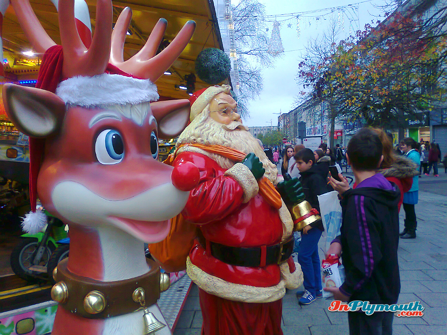 Christmas in Plymouth 2015
