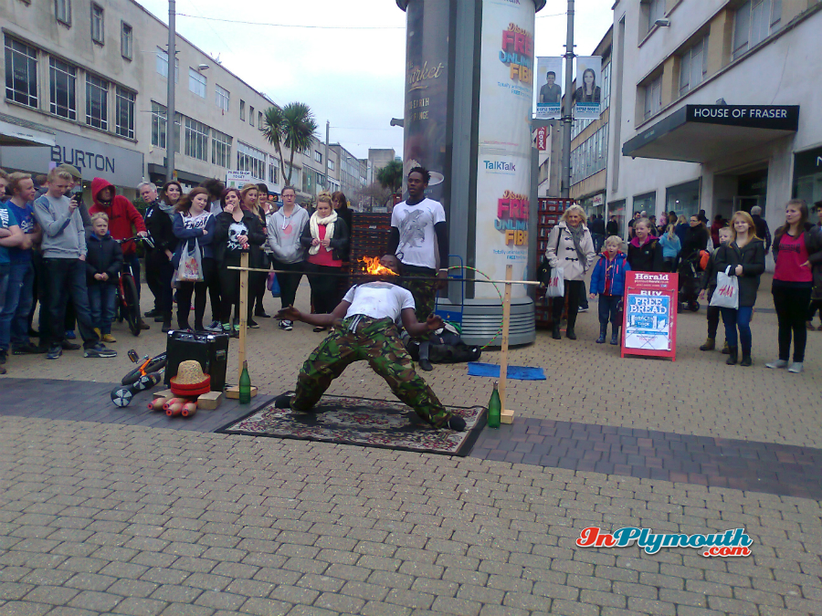 Street Entertainer 2015